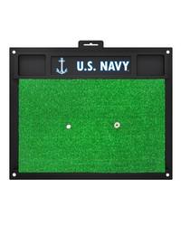 Navy Golf Hitting Mat 20x17 by