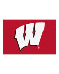 Wisconsin Badgers Starter Rug by