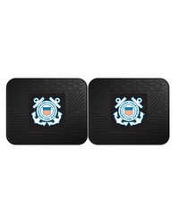 Coast Guard Backseat Utility Mat 2 Pack 14x17 by