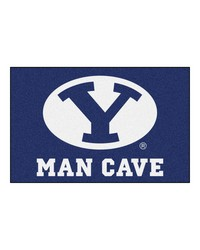 Brigham Young Man Cave Starter Rug 19x30 by