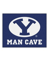 Brigham Young Man Cave AllStar Mat 34x45 by