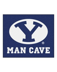 Brigham Young Man Cave Tailgater Rug 60x72 by