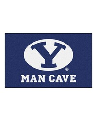 Brigham Young Man Cave UltiMat Rug 60x96 by