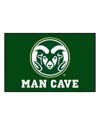 Colorado State Man Cave Starter Rug 19x30 by