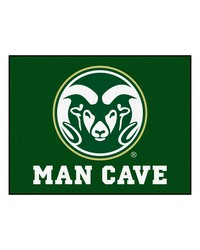 Colorado State Man Cave AllStar Mat 34x45 by