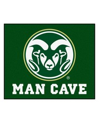 Colorado State Man Cave Tailgater Rug 60x72 by
