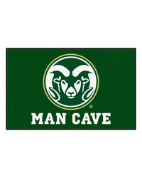 Colorado State Man Cave UltiMat Rug 60x96 by
