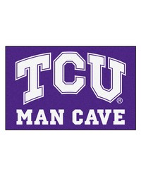 Texas Christian Man Cave Starter Rug 19x30 by