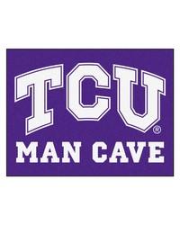 Texas Christian Man Cave AllStar Mat 34x45 by