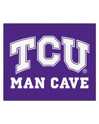 Texas Christian Man Cave Tailgater Rug 60x72 by