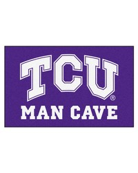 Texas Christian Man Cave UltiMat Rug 60x96 by