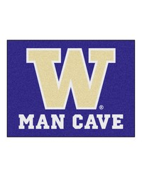 Washington Man Cave AllStar Mat 34x45 by