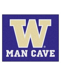 Washington Man Cave Tailgater Rug 60x72 by