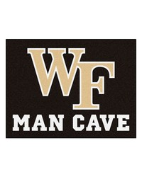 Wake Forest Man Cave AllStar Mat 34x45 by
