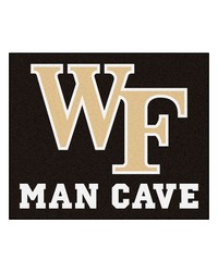 Wake Forest Man Cave Tailgater Rug 60x72 by