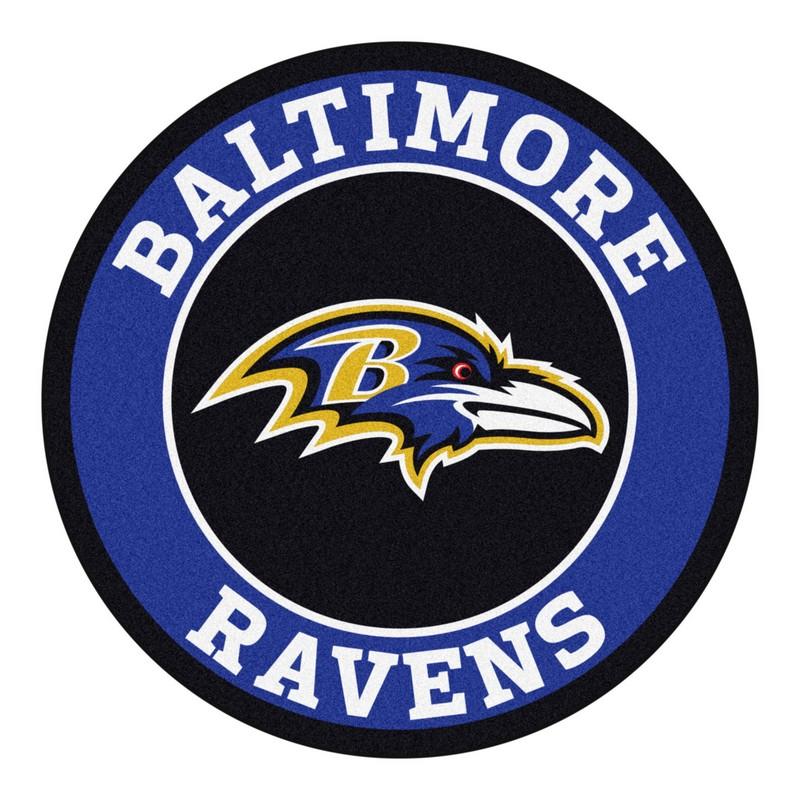 Nfl Baltimore Ravens Roundel Mat