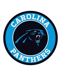 NFL Carolina Panthers Roundel Mat by