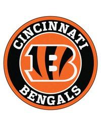 NFL Cincinnati Bengals Roundel Mat by