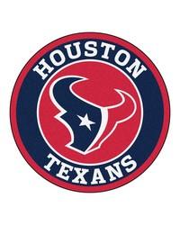NFL Houston Texans Roundel Mat by