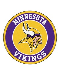 NFL Minnesota Vikings Roundel Mat by