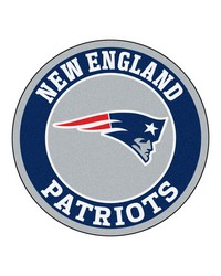 NFL New England Patriots Roundel Mat by