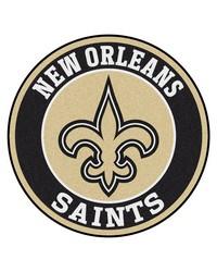 NFL New Orleans Saints Roundel Mat by