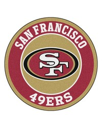 NFL San Francisco 49ers Roundel Mat by