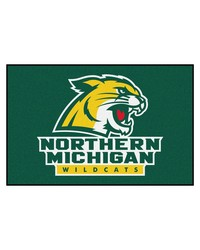 Northern Michigan Wildcats Starter Rug by