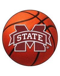 Mississippi State Bulldogs Basketball Rug by