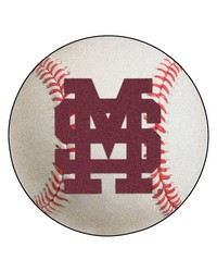 Mississippi State Bulldogs Baseball Rug by
