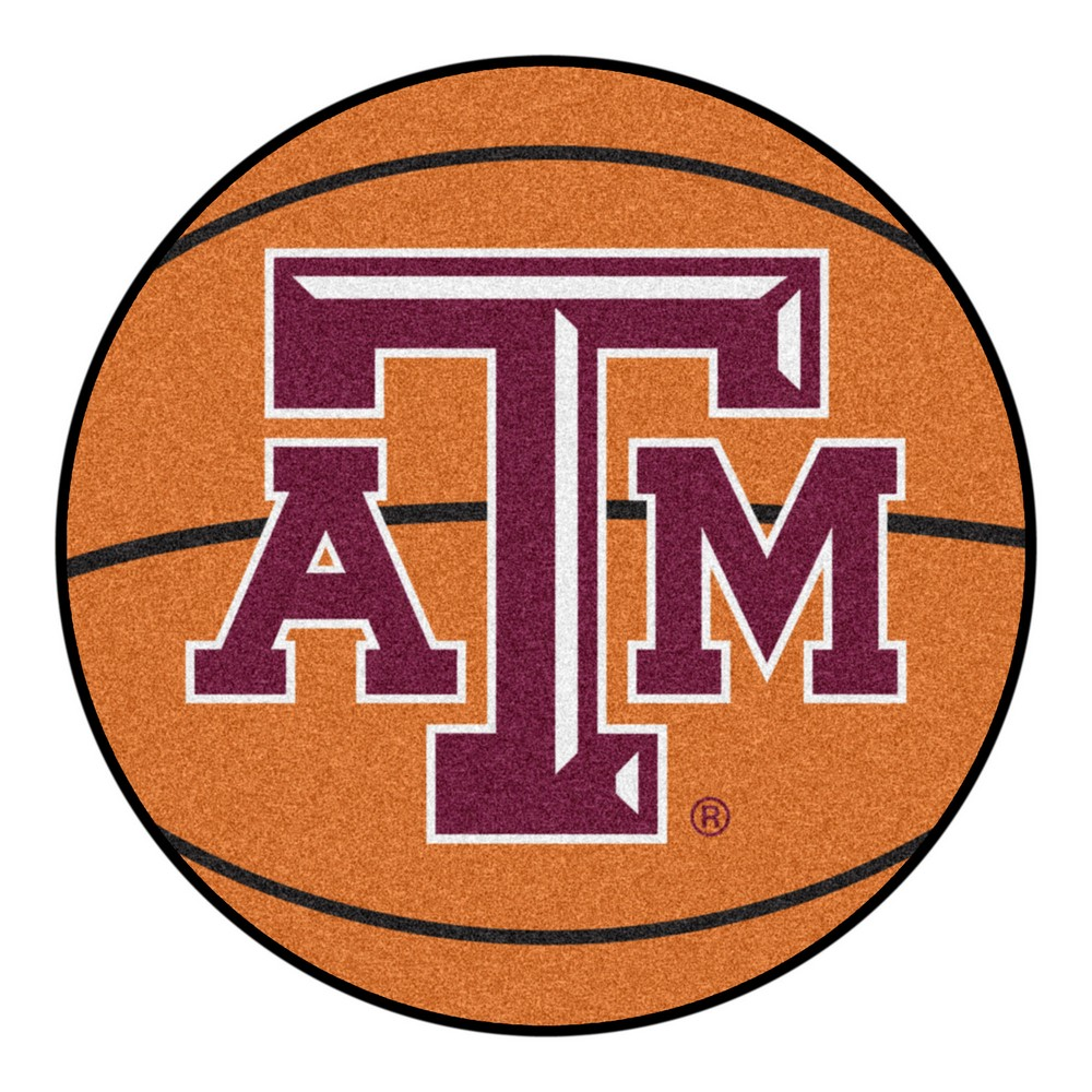 Texas AM Aggies Basketball Rug