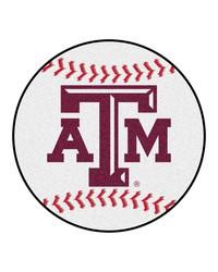 Texas AM Aggies Baseball Rug by