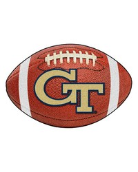 Georgia Tech Yellow Jackets Football Rug by