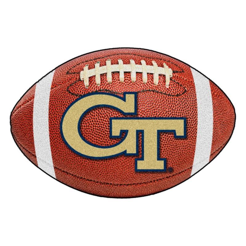 Georgia Tech Yellow Jackets Football Rug
