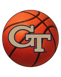 Georgia Tech Yellow Jackets Basketball Rug by