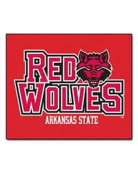 Arkansas State Tailgater Rug 60x72 by