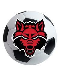 Arkansas State Soccer Ball  by