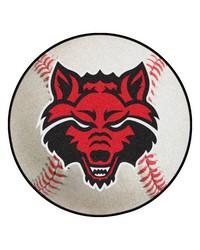 Arkansas State Baseball Mat 26 diameter  by