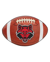 Arkansas State Football Rug 22x35 by