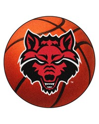 Arkansas State Basketball Mat 26 diameter  by