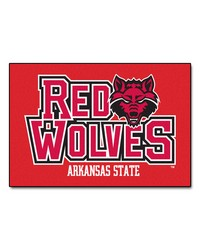 Arkansas State Red Wolves Starter Rug by