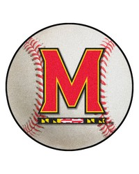Maryland Baseball Mat 26 diameter  by
