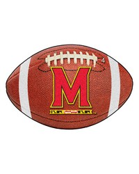 Maryland Football Rug 22x35 by
