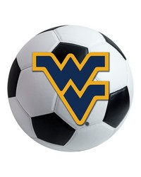 West Virginia Soccer Ball  by