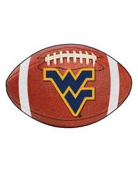 West Virginia Mountaineers Football Rug by