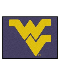 West Virginia Tailgater Rug 60x72 by