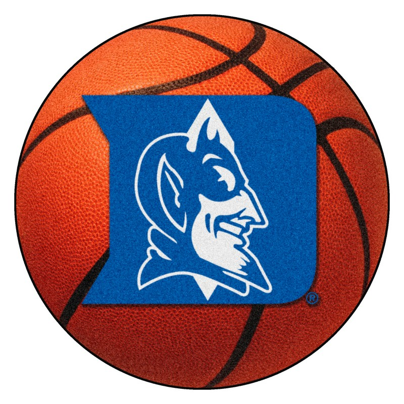 Large Basketball Area Rug: Duke Blue Devils Basketball Rug
