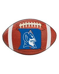 Duke Blue Devils Football Rug by