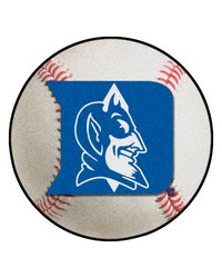Duke Blue Devils Baseball Rug by