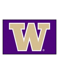 Washington Huskies Starter Rug by